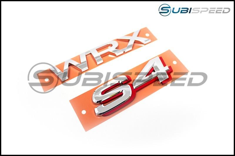 JDM WRX S4 Emblem (Badge)