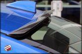 Password JDM Dry Carbon Fiber Rear Glass Deflector - 2015-2020 WRX / 2015-2020 STI