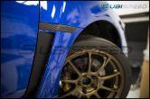 WRX Matte Black Fender Emblems - 2015+ WRX / 2015+ STI