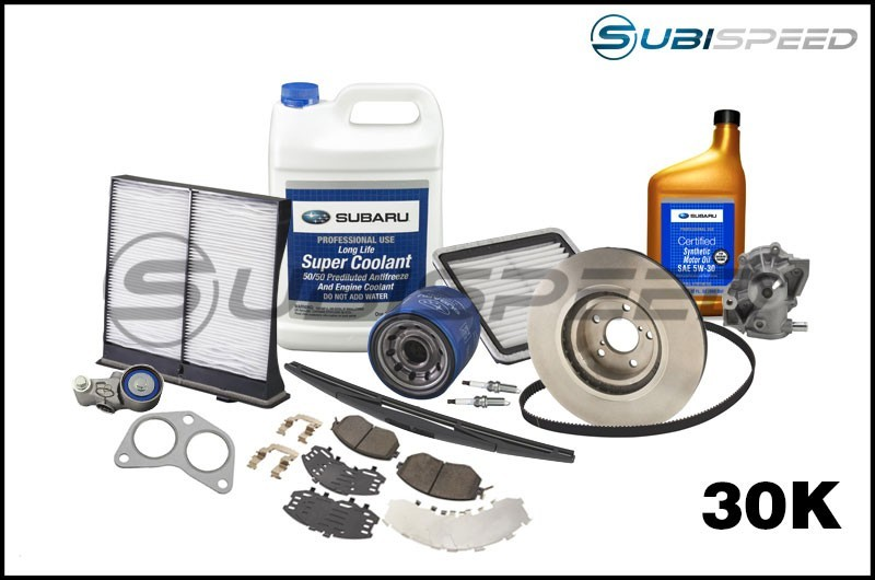 Subaru 30,000 Mile Maintenance Kit - 2015+ WRX
