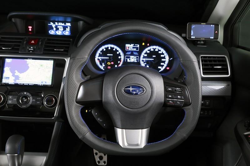 DAMD D Shaped Steering Wheel (Red Stiching)