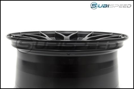 Enkei Raijin Black Wheels 18x9.5 +35mm - 2015+ WRX / 2015+ STI