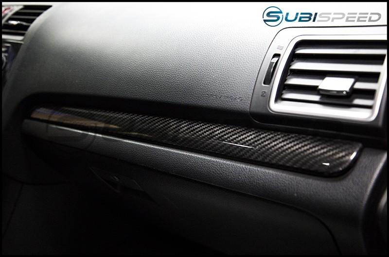 OLM S-Line Dry Carbon Fiber Dash Trim Covers