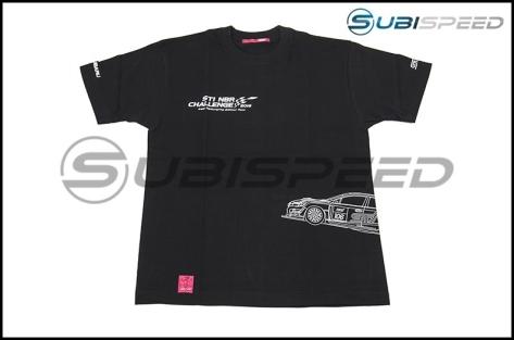 Limited Edition Subaru NBR 2016 Commemorative T-Shirt / Black Vehicle Design