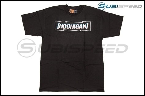 HOONIGAN DSC Censor Bar Short Sleeve Black Tee