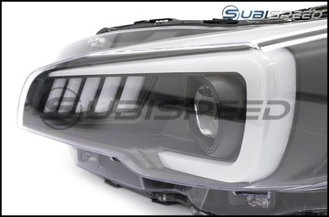 SubiSpeed LED Headlights DRL and Sequential Turn Signals - 2018-2020 WRX Limited / 2018-2020 STI