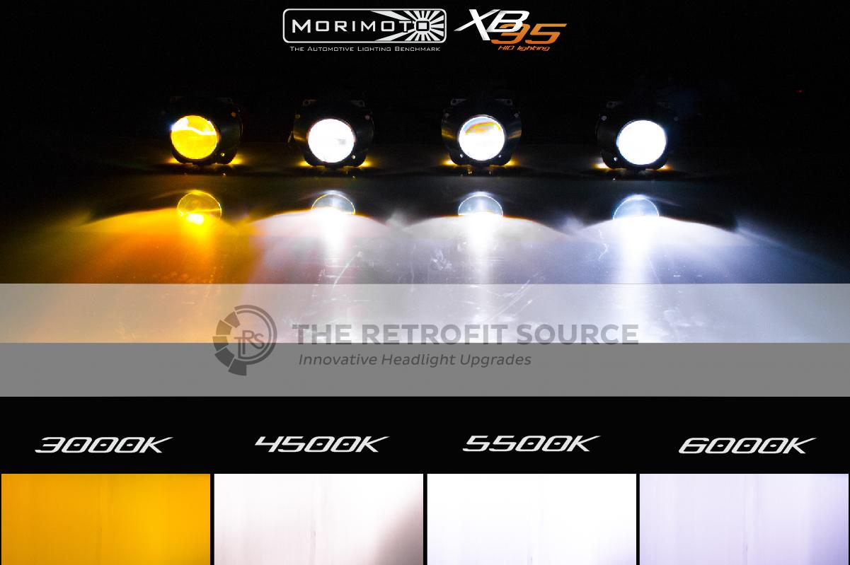 Morimoto Headlight Elite HID System (various colors)