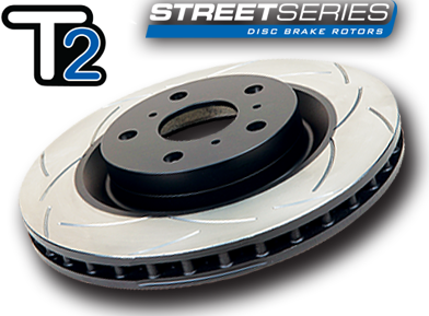 DBA T2 Street Series Slotted Rotors (Front)
