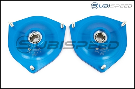 Cusco Gravel Competition Pillowball Front Camber Plates - 2015+ WRX / 2015+ STI