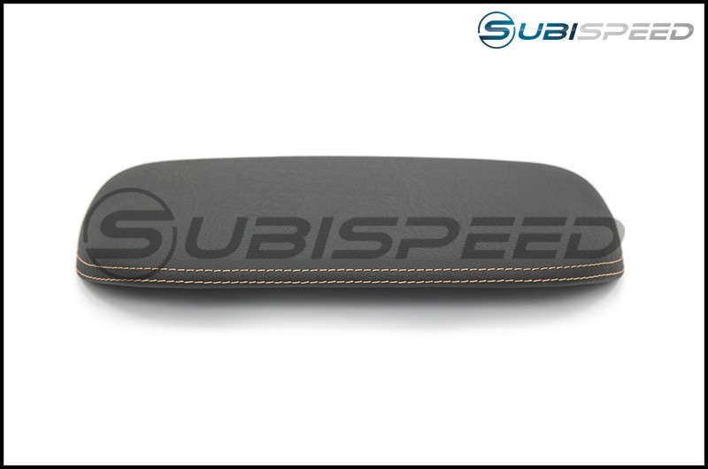 Subaru OEM JDM S4 SporVita Console Hood with Tan Stitching