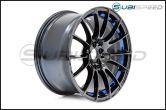 WedsSport SA-72R Blue Light Chrome 18x9.5 +45 R Face - 2013+ FR-S / BRZ / 86 / 2014+ Forester