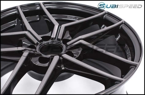 Enkei TY5 18x8.5 +35mm Pearl Black - 2015+ WRX / 2015+ STI