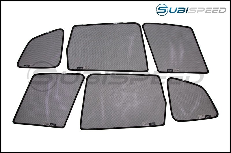 3D Maxpider Soltect Custom Fit Window Sun Shades - 2014-2018 Forester