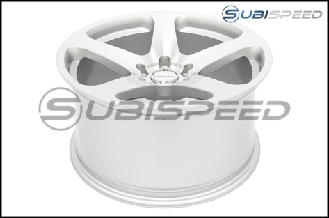 Varrstoen MK1 18x9.5 +35 Gloss Silver With Machined Face - 2013+ FR-S / BRZ / 86 / 2014+ Forester