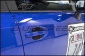 OLM S-line Dry Carbon Fiber Door Handle Inserts - 2015-2021 Subaru WRX & STI / 2014-2018 Forester