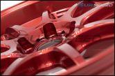 Work Emotion D9R 18x9.5 +38mm Candy Apple Red - 2015+ WRX / 2015+ STI
