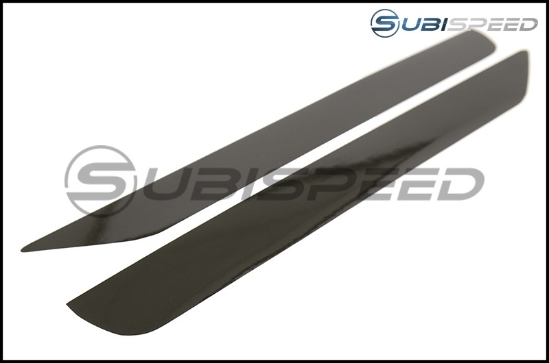 Smoked Rear Bumper Reflector Overlays - 14-18 Forester
