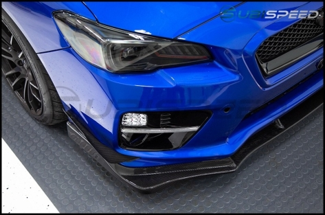 Carbon Reproductions MA Style Front Lip - 2015-2017 WRX / 2015-2017 STI