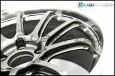 Advan RS-DF Pro 18X9.5 +45 114.3 Hyper Black - 2015+ WRX / 2015+ STI