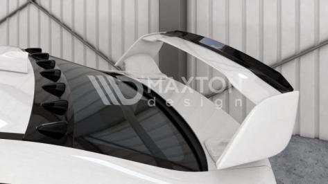 Maxton Design Spoiler Gurney Flap (STI Spoiler) - 2015-2020 WRX / 2015-2020 STI