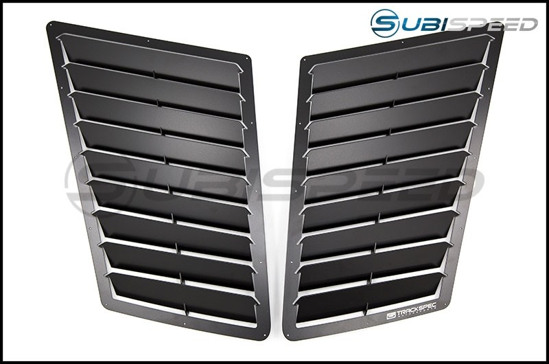 TrackSpec T1 Hood Louver Kit (Black) - 13+ FT-86