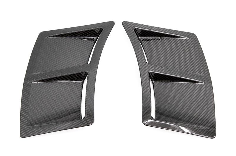 OLM S207 Style Carbon Fiber Bumper Vent Inserts
