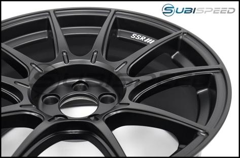 SSR GTX01 Flat Black 18x9.5 +40mm - 2013+ FR-S / BRZ / 86 / 2014+ Forester