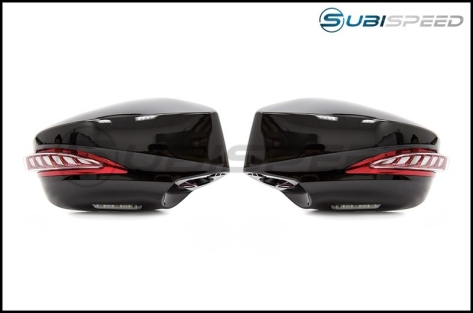 OLM Sequential Turn Signal Mirrors Paint Matched - 2013+ BRZ