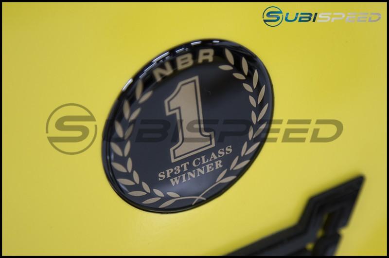 STI JDM NBR Challenge SP3T Round Badge