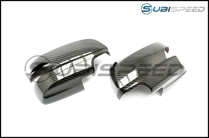 OLM LE Dry Carbon Fiber Full Mirror Covers (With Turn Signal Hole)