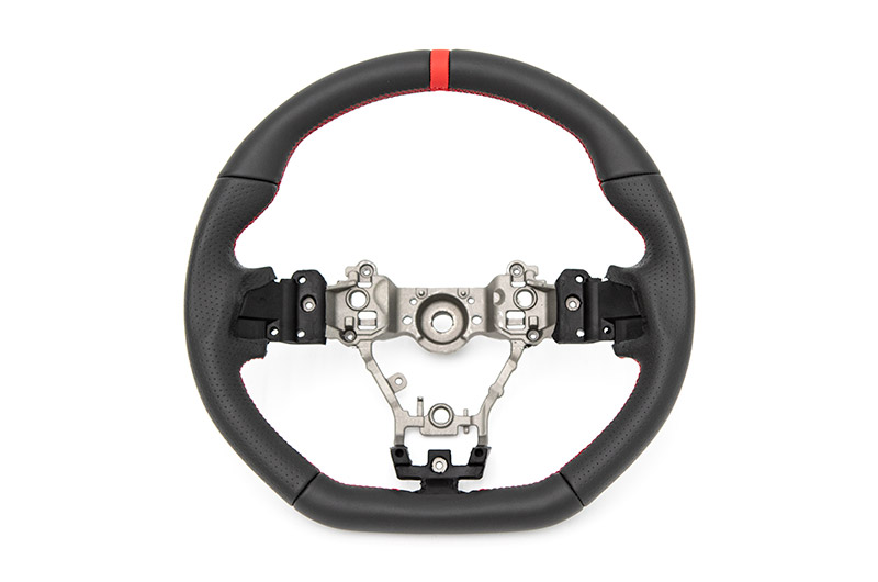 FactionFab Leather Steering Wheel