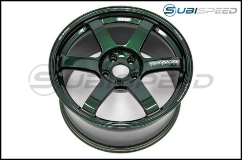 Volk TE37 SAGA Racing Green 18x9.5 +38