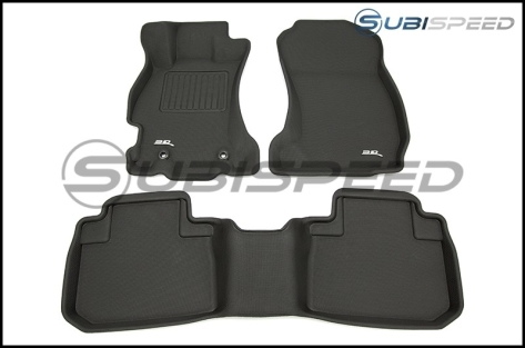 3D Maxpider Heavy Duty All Weather Floor Mats - 2014 - 2014+ Forester
