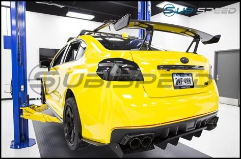 STI Carbon Fiber Trunk Finish - 2015+ WRX / 2015+ STI