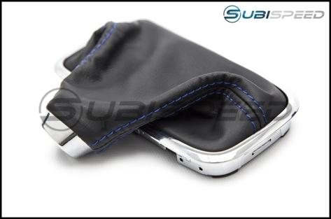 Subaru OEM JDM Shifter Boot Blue Stitching