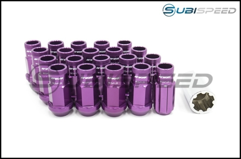 Work Wheels RS-R Open End Lug Nuts - Universal