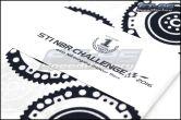 Subaru STI 44th NBR Challenge Commemorative Hand Towel - Universal