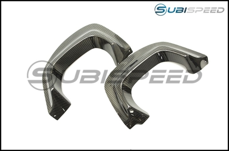 Varis Carbon Fiber Heat Shield Guards - 2015+ WRX / 2015+ STI