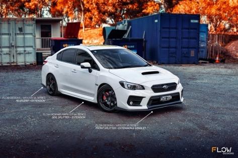 Flow Designs Full Body Kit - 2015-2020 Subaru WRX & STI