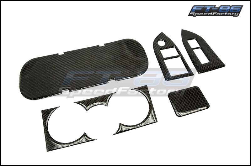 GCS Carbon Fiber Style Interior Dress Up Kit