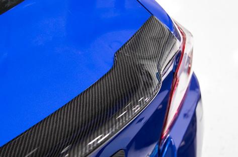 OLM V Style Carbon Fiber Trunk Spoiler - 2015+ WRX / 2015+ STI
