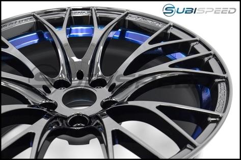 WedsSport SA-20R BLC 18x8.5 +35 F Face - 2015+ WRX / 2015+ STI