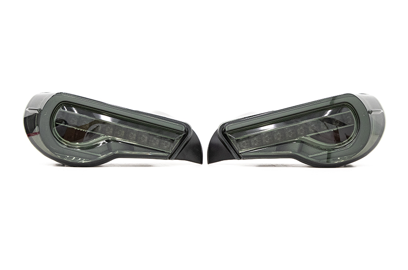 OLM OE Plus Linear Style Sequential Tail Lights (Smoked)