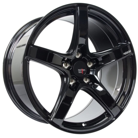 Option Lab R555 18x9.5 +38 Gotham Black - 2013+ FR-S / BRZ / 86 / 2014+ Forester