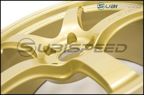 Rays Gram Lights 57CR E8 Gold 18x9.5 +38 - 2015+ WRX / 2015+ STI