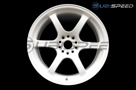 Gram Lights 57DR White 18x9.5 +38 Wheels - 2015+ WRX / 2015+ STI