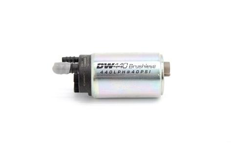 DeatschWerks DW440 440lph Brushless Fuel Pump with Single Speed Controller - Universal