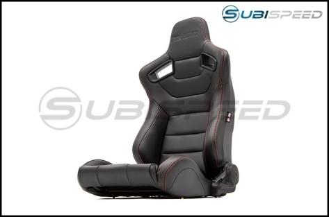 Braum Elite Series Racing Seats (Red Stitching) - Universal