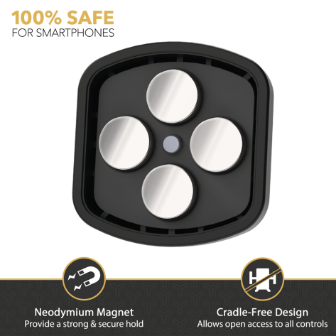Scosche MagicMount Fresche Magnetic FreeFlow Vent Mount - Universal