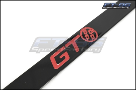 Toyota Red GT86 Logo License Plate Frame